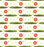 Seamless flower pattern Stock Photo