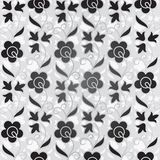Seamless flower pattern background vector illustration
