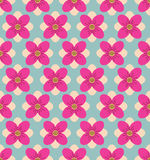 Seamless flower pattern background, Blue background. Vector seamless pattern. Seamless flower pattern background Vector Illustration