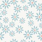 Seamless flower pattern. Background design Stock Image
