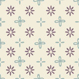 Seamless flower pattern. Background design Stock Images