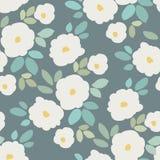 Seamless flower pattern. Background design Stock Photos