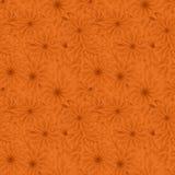 Seamless flower pattern background. Seamless orange flower pattern background Stock Image
