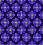 Seamless flower pattern background, Purple background. Vector seamless pattern. Seamless flower pattern background Stock Illustration