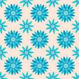 Seamless flower pattern background Stock Photos
