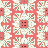 Seamless flower pattern background. Vector - Seamless flower pattern background Royalty Free Stock Photos