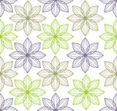 Seamless flower pattern background Stock Image