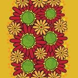 Seamless flower pattern Royalty Free Stock Image