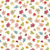 Seamless flower pattern. Can be used for wallpaper, website background, wrapping paper, invitation, flyer, banner or website. Hand drawn vector illustration of Stock Image