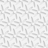 Seamless Flower Pattern. 3d Vector Seamless Flower Pattern Vector Illustration