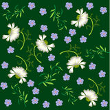Seamless flower pattern Royalty Free Stock Photos