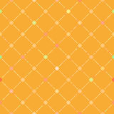 Seamless flower pattern. EPS 8. Seamless flower pattern, trendy modern wallpaper or textile. EPS 8 vector file included Royalty Free Stock Image