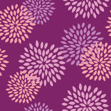 Seamless Flower Pattern. Seamless Floral Pattern Chic and Vintage vector illustration
