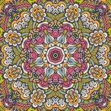 Seamless flower pattern Geometric print Stock Image