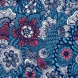 Seamless flower pattern Royalty Free Stock Photos