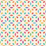 Seamless flower pattern. Leaf and drop. Vector eps 10 royalty free illustration