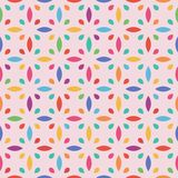 Seamless flower pattern. Leaf and drop. Vector eps 10 vector illustration