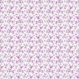 Seamless flower pattern paper wallpaper Stock Photography