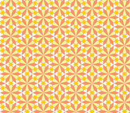 Seamless flower pattern. Repeating geometric flower pattern, vector illustration Royalty Free Illustration