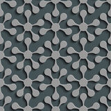 Seamless Flower Pattern. Vector Background Royalty Free Stock Photography