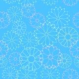 Seamless flower pattern Royalty Free Stock Photo