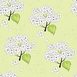 Seamless flower pattern. Vector illustration Royalty Free Stock Photo