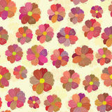 Seamless flower pattern. Vector illustration Royalty Free Stock Images