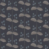 Seamless flower pattern. Vector vintage seamless flower pattern Royalty Free Stock Photography