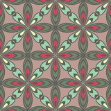 Seamless flower petals pattern. Royalty Free Stock Photography