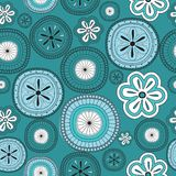 Seamless flower retro background Royalty Free Stock Image
