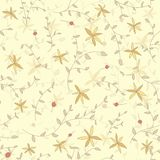 Seamless flower texture on a light background. Use as a pattern fill, backdrop, surface texture Royalty Free Stock Photography