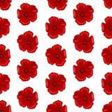Seamless flower texture. Vector illustration of seamless floral pattern. Decorative beautiful vector illustration texture Royalty Free Stock Photos