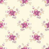 Seamless flower texture Royalty Free Stock Image