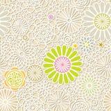 Seamless Flower Wallpaper Stock Images
