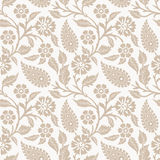 Seamless flower wallpaper Royalty Free Stock Photography