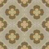 Seamless flower wallpaper Stock Photography