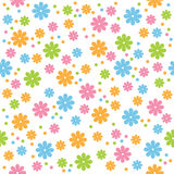 Seamless flowers royalty free illustration
