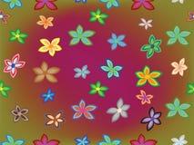 Seamless flowers royalty free stock photos