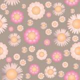 Seamless flowers Stock Photo