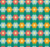 Seamless flowers background Royalty Free Stock Images