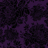 Seamless flowers background Royalty Free Stock Photo