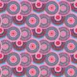 Seamless flowers background Stock Image