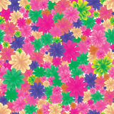 Seamless flowers, part 2 Royalty Free Stock Photos