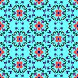 Seamless flowers pattern 2 Royalty Free Stock Images