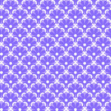 Seamless flowers pattern Stock Images