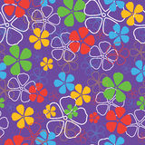 Seamless flowers pattern Royalty Free Stock Photography