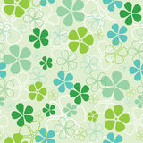 Seamless flowers pattern Royalty Free Stock Images