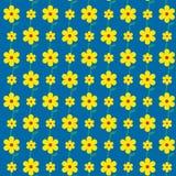 Seamless flowers pattern background. Illustration Vector Illustration