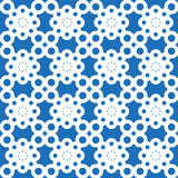 Seamless flowers pattern. Seamless round wallpaper Royalty Free Stock Photography