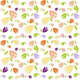 Seamless flowers pattern texture pastel Stock Photos